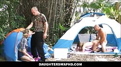 Two Dad's Swap Teen Daughters During Camping Trip