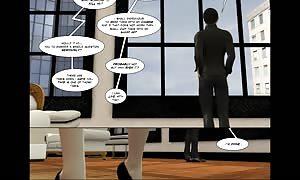 3D Comic: Vox Populi. scene four