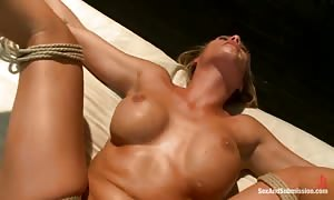 Charisma Cappelli in extreme ass sex action