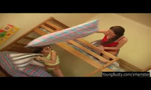 teen big-chested Silvie 69ing with a lezzie