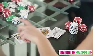 Poker Night swap Pt2. Shain BlairZoe, Parker