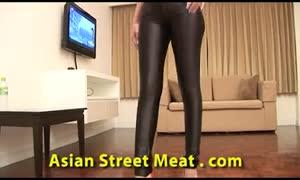enjoying anal-sex Thai hotty Buggered and guzzles