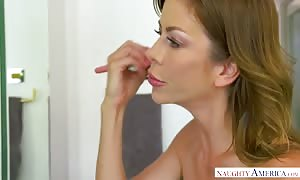 horny mother I would like to fuck Alexis Fawx nails young prick